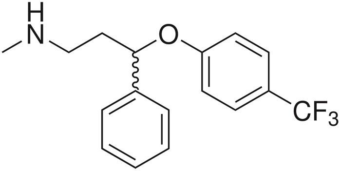 Химическая формула флуоксетина