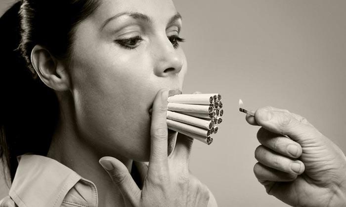 Риск образования холестерина напрямую зависит от количества выкуриваемых сигарет
