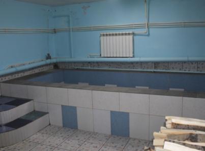 Бассейн в реабилитационном центре «Вершина» (Хабаровск)