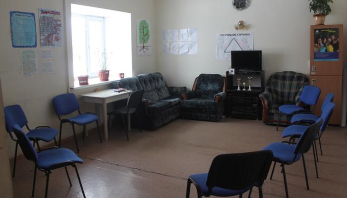 Зал для занятий в реабилитационном центре «Вершина» (Хабаровск)