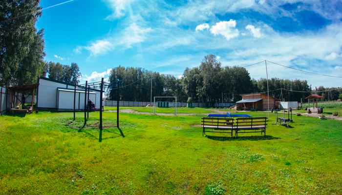 Территория реабилитационного центра «Становление» (Ханты-Мансийск)