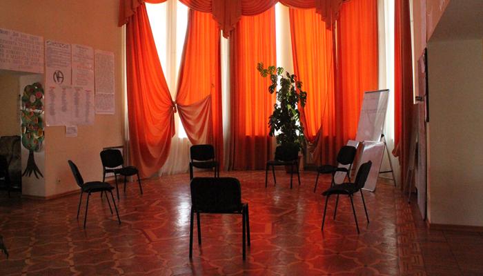Зал для занятий в реабилитационном центре «12 Ступеней» (Уфа)