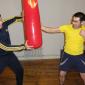 Спортивные занятия постояльцев в реабилитационном центре «Сильное поколение» (Уфа)