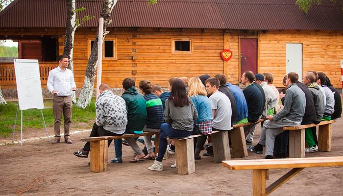 Лекция для постояльцев в реабилитационном центре «Горизонт» (Улан-Удэ)