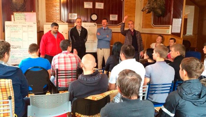 Лекция для постояльцев в реабилитационном центре «Решение» (Улан-Удэ)