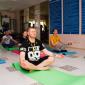 Занятия постояльцев йогой в реабилитационном центре «Решение» (Улан-Удэ)