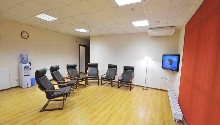 Зал для занятий в реабилитационном центре «Ковчег» (Уфа)