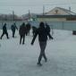 Игра постояльцев в футбол в реабилитационном центре «Мост» (Уфа)