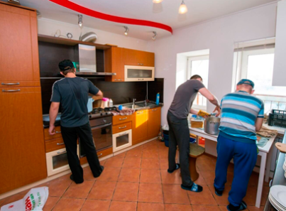 Кухня в реабилитационном центре «Инсайт» (Ульяновск)
