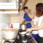 Кухня в реабилитационном центре «Вершина» (Ульяновск)