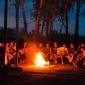 Отдых постояльцев в реабилитационном центре «Горизонт» (Уфа)