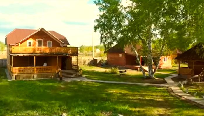 Территория реабилитационного центра «Горизонт» (Уфа)