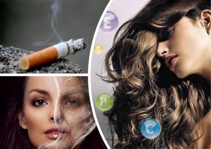 Курение прямым и негативным образом влияет на волосы