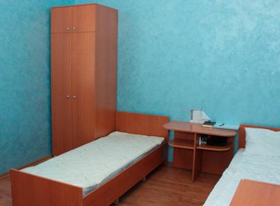 Спальня в Центре лечения зависимостей «Выход есть» (Киев)