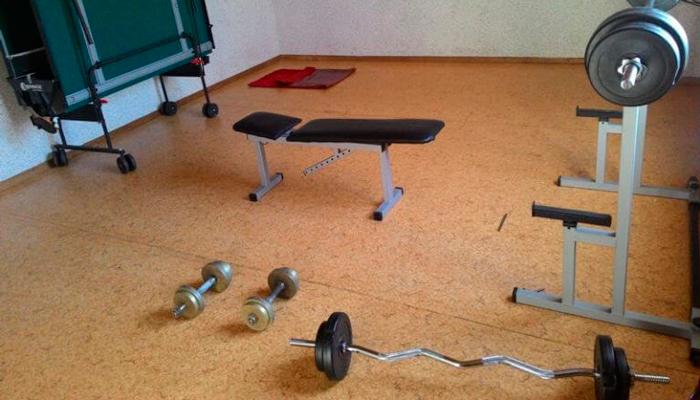 Спортзал в Центре психологической реабилитации зависимых «Метод» (Харьков)