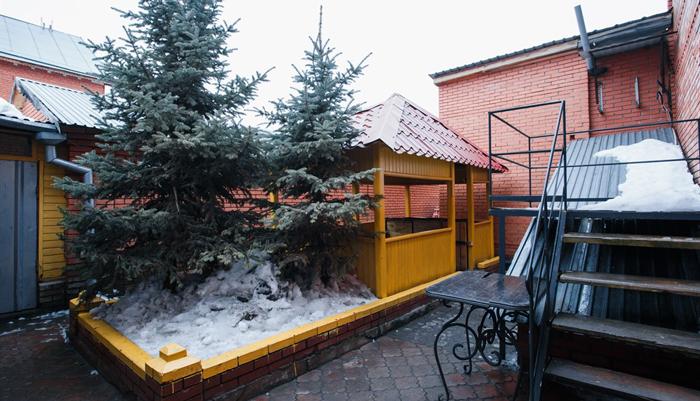 Двор Центра социальной реабилитации «Перспектива» (Тюмень)
