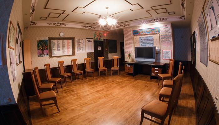 Зал для занятий в Центре социальной реабилитации «Перспектива» (Тюмень)