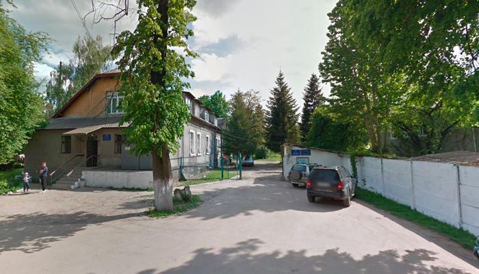 Здание Ивано-Франковского областного наркологического диспансера