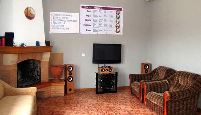 Зал для занятий в Клинике Технологий Отношений (Киев)
