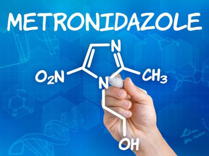 Химическая формула метронидазола