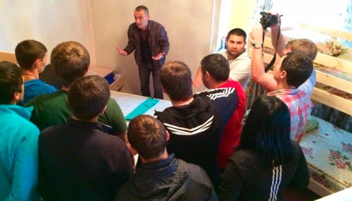 Лекция для постояльцев в реабилитационном центре «Ориентир» (Киров)