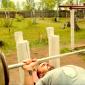 Спортивные занятия постояльцев в реабилитационном центре «Горизонт» (Магнитогорск)