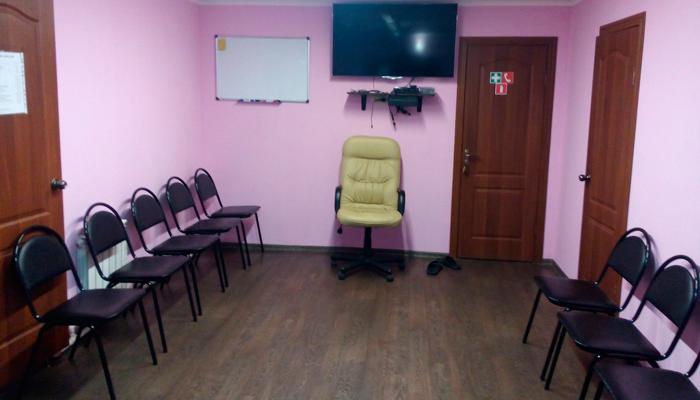 Зал для занятий в реабилитационном центре «Перекресток» (Курган)