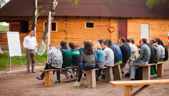 Лекция для постояльцев в реабилитационном центре «Горизонт» (Тула)