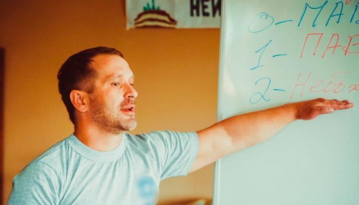 Лекция для постояльцев в реабилитационном центре «Свобода» (Тюмень)
