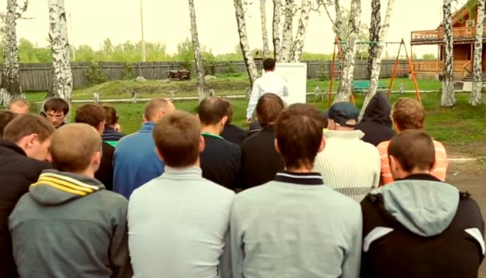Лекция для постояльцев в реабилитационном центре «Горизонт» (Краснодар)