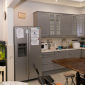 Кухня в реабилитационном центре «Первый шаг» (Иркутск)