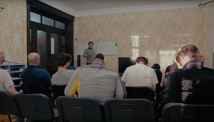 Лекция для постояльцев в реабилитационном центре «Шаг» (Махачкала)