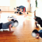 Спортивные занятия постояльцев в центре реабилитации наркозависимых «Горец» (Махачкала)