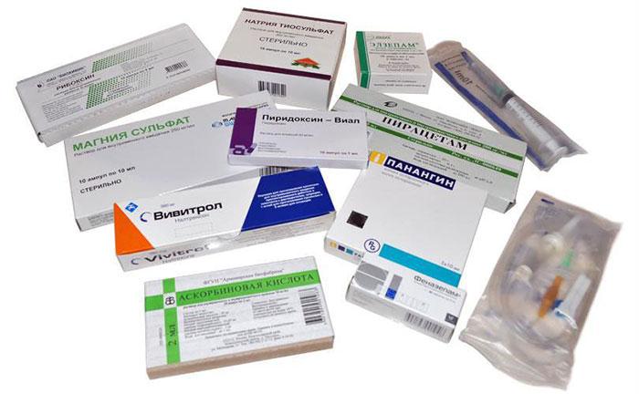 Медикаментозные препараты блокируют выработку ацетальдегиддегидрогеназы