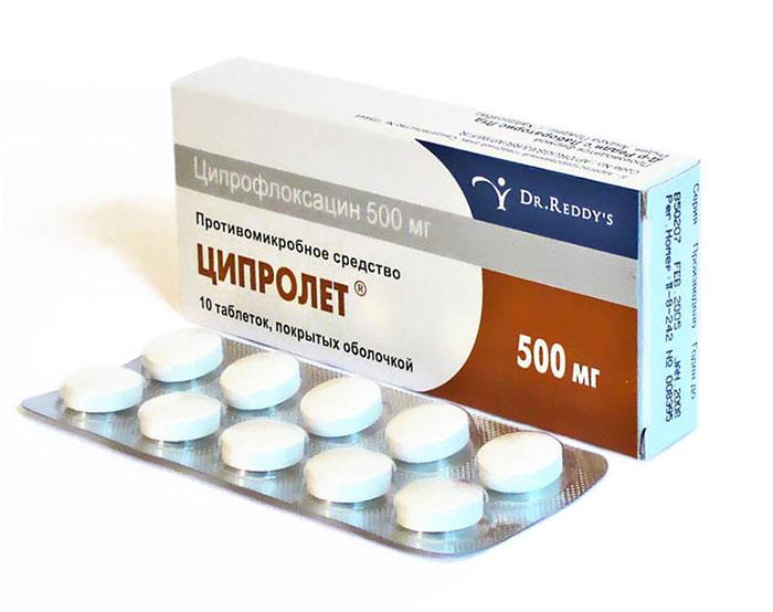 Ципролет является антибактериальным препаратом широкого спектра действия
