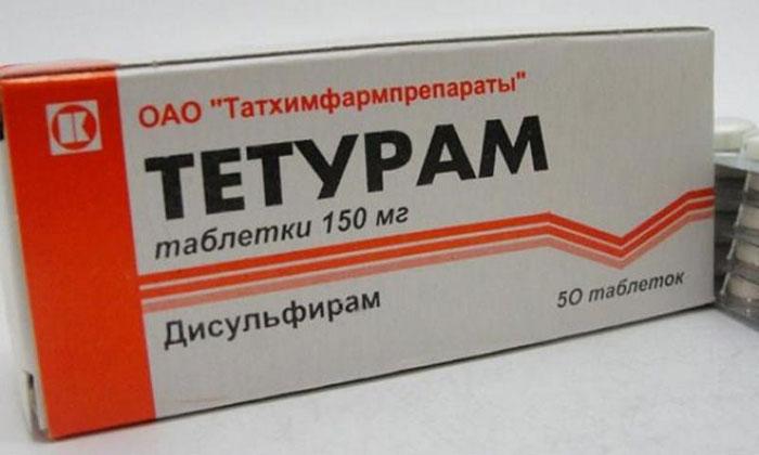 Препарат Тетурам не совместим с алкоголем
