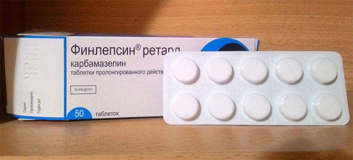 Финлепсин является противоэпилептическим средством