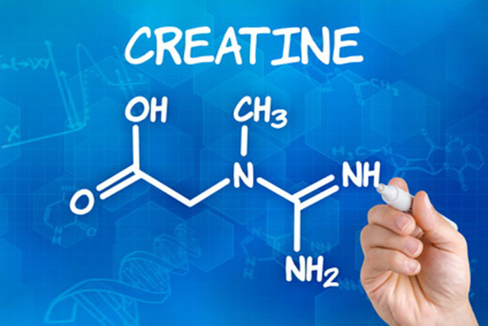 Структурная формула креатина