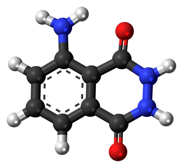 Аминодигидрофталазиндион натрия - молекулярная формула действующего вещества препарата Галавит