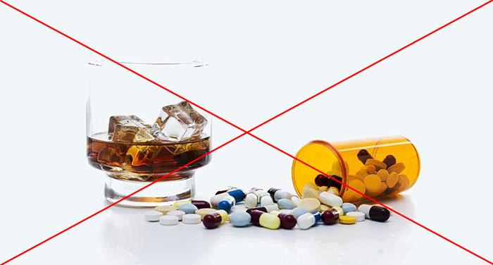 Врачи не рекомендуют употреблять алкоголь пр приеме Актовегина