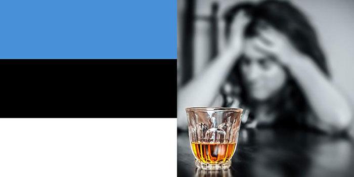 Ежегодно в Эстонии потребляется 17,2 литра алкоголя на душу населения
