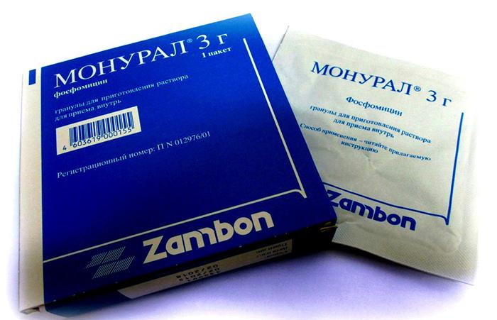 Монурал относится к группе уроантисептиков и является антибиотиком широкого спектра действия