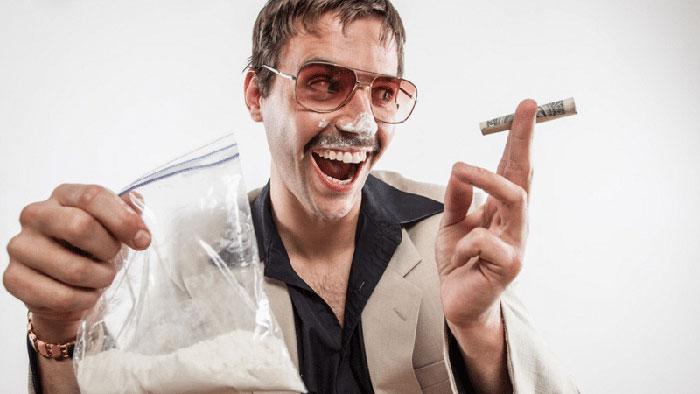 Кокаин вызывает чувство эйфории и ясности ума