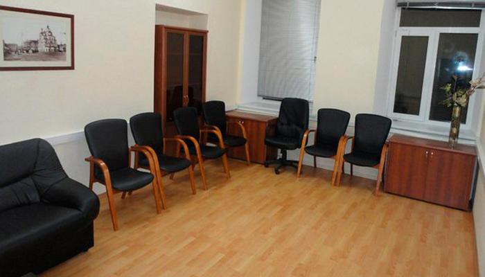 Зал для занятий в Центре психологической помощи «Инициация» (Москва)