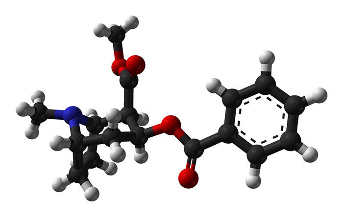 Структурная формула кокаина