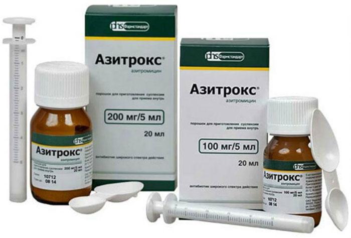 Азитрокс - антибиотик группы макролидов широкого спектра применения