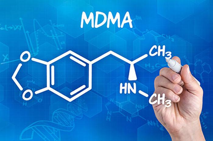 МДМА - структурная формула вещества