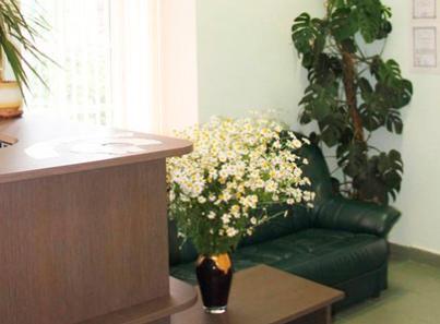 Холл в наркологической клинике «Альянс КРК» (Москва)