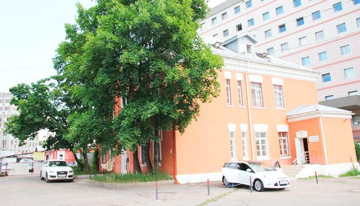 Здание наркологической клиники «Альянс КРК» (Москва)