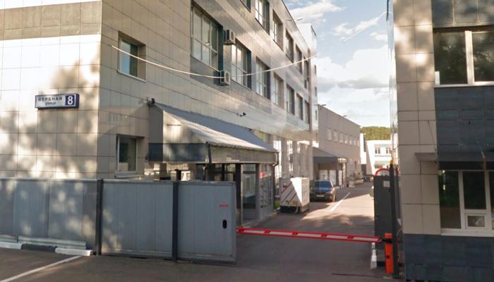 Расположение наркологической клиники «Гален» (Москва)